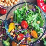 Colourful ingredients are the basis of creating a tasty, inventive salad
